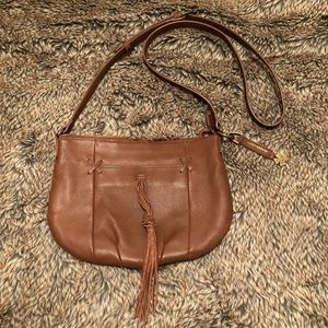 😍♥️ Lucky Brand leather cross body bag